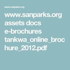 www.sanparks.org assets docs e-brochures tankwa_online_brochure_2012.pdf Brochures, Golden Gate, Lightroom