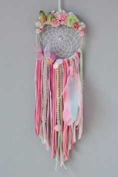 Dream Catcher Decor, Dream Catcher Nursery, Weaving Loom Diy, Teepee Party, Diy And Crafts, Arts And Crafts, Diy Gifts, Handmade Gifts, Angel Crafts