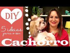 5 IDEIAS BOAS PRA CACHORRO, DIY por Camila Camargo
