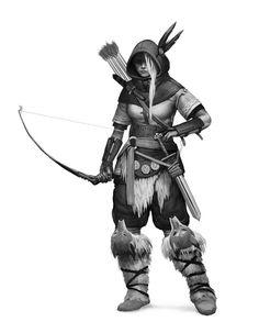 #ranger #barbarian #hunter