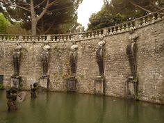 Italia. Villa Lante.9. Fontana dei Pegaso