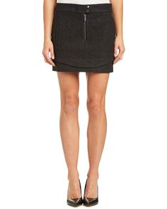 Spotted this Andrew Marc Lainy Wool-Blend Skirt on Rue La La. Shop (quickly!).