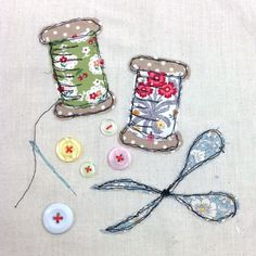 Freehand Machine Embroidery (John Lewis, London) | The Makery