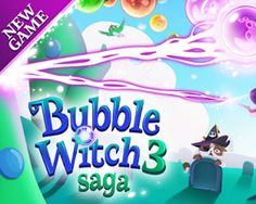 Bubble Witch 3 Saga for pc free download (Windows 10 8.1 8 7 XP computer)