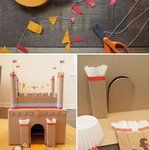 Some good activities - popsicle match, geometric stamping, alphabet book