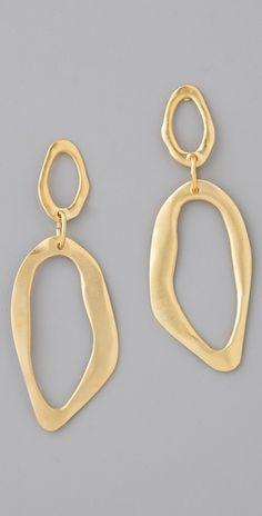 Wave Drop Earrings