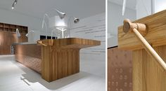 Schiffini concept kitchen - insland wall in pock-marked copper