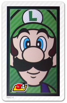 Photos With Mario AR Card - Luigi