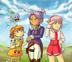 Sonic Fan Art, Amy Rose, Sonic Anime, Sonic Y Amy, Cream Sonic, Sonic The Hedgehog, Sonic The Movie, Sonic Birthday, Mundo Dos Games
