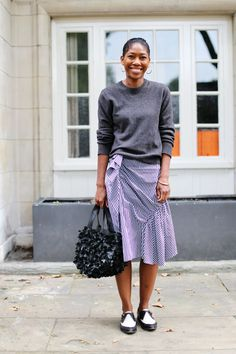 What ELLE Wears to London Fashion Week SS17 - Day 1