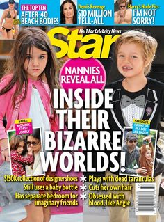 Star is all about entertainment, from the best and latest breaking celebrity news to the movies and music that everyone is talking about. Discover all this with your Star Magazine digital subscription today. Shiloh Jolie, Jolie Pitt, The Week Magazine, Star Magazine, Bottle Cutting, Demi Moore, Celebrity Kids, Cute Celebrities, Heidi Klum