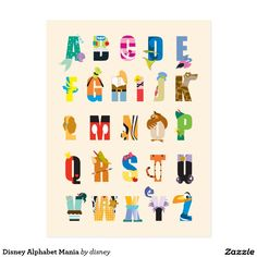 Buy Disney Alphabet Maxi Wall Poster online and save! Disney Alphabet Wall Poster This poster delivers a sharp, clean image and vibrant colours. This poster is printed on high quality paper. Disney Pixar, Dvd Disney, Disney Poster, Arte Disney, Disney And Dreamworks, Disney Love, Disney Magic, Baby Disney Characters, Disney Villains