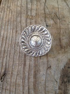 Silver Disc Boho Ring from Gypsy Outfitters