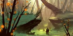 fantasy alien landscape...cool