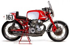 1959 Honda RC160 First Motorcycle