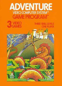 Atari 2600 - Adventure (1979) CX-2613 - Front
