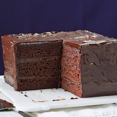 Food Cakes, Cupcake Cakes, Cupcakes, Best Cake Recipes, Dessert Recipes, Just Desserts, Delicious Desserts, Chocolate Ganache Cake, Let Them Eat Cake