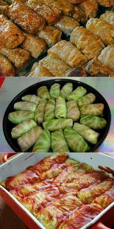 Голубцы по-румынски: вот как сделать привычное блюдо идеальным. Только не проглоти язык. Турецкие Рецепты, Греческие Рецепты, Мясные Рецепты, Рецепты Приготовления, Полезные Рецепты, Гастрономия, Пищевые Поделки