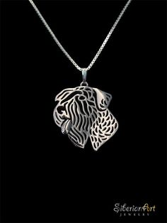 Sealyham Terrier jewelry  sterling silver pendant and