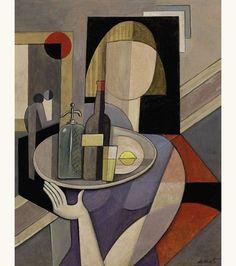 'The Waitress' - Bela De Kristo (1920-2006)