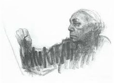 """Käthe Kollwitz self-portrait. From Self-Portrait Drawings from 1484 to Today"""" Life Drawing, Figure Drawing, Painting & Drawing, Arte Grunge, Self Portrait Drawing, Gesture Drawing, Pencil Portrait, Kathe Kollwitz, Charcoal Portraits"""