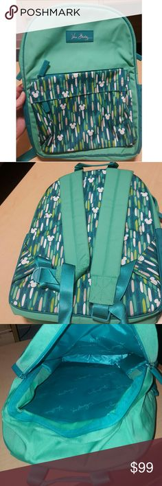 Disney World Vera Bradley Backpack Authentic, never used Disney Vera Bradley Backpack! Very rare, I don't think they sell this version anymore. Willing to negotiate on the price! Vera Bradley Bags Backpacks