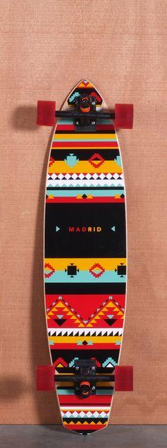 "Madrid 38.75"" Africa Longboard Complete http://www.creativeboysclub.com/"