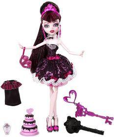 Mattel, Monster High, Słodkie 1600 urodziny Draculaury, lalka