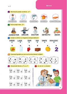 Clasa pregatitoare : Comunicare in limba romana - Clasa Pregatitoare Baby Love, Children, Kids, Diy And Crafts, Lol, Learning, School, Literatura, Boys