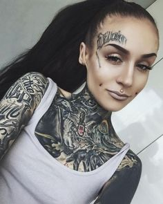 #tattooswomensfaces