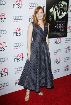 Jessica Chastain Is a Style Star - Jessica Chastain in Roksanda-Wmag