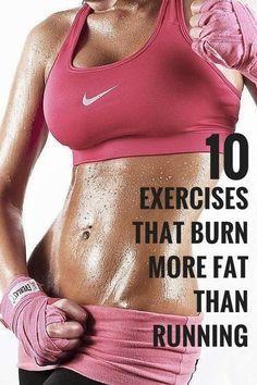 10 Exercises That Burn More Fat Than Running | Medi Villas