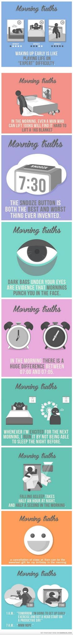 Morning Truths... Definitely me!!