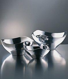 Nambe TriCorner Bowls #Dillards