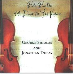 Shiolas/Dubay - Bela Bartok 44 Duos For Two Violins