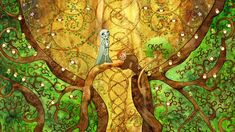 Not Quite a Fairy Tale: A The Secret of Kells Review | Lady Geek ...