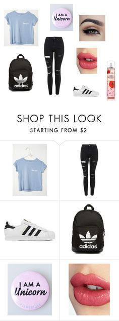 """Disney"" by asialawson119 on Polyvore featuring Topshop, adidas, adidas Originals, Charlotte Tilbury, women's clothing, women's fashion, women, female, woman and misses"