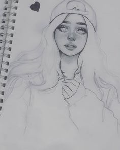 Best 11 – Page 633387434348881 – SkillOfKing.Com - Art and Illustrations - Art Sketches Pencil Art Drawings, Realistic Drawings, Art Drawings Sketches, Easy Drawings, Sketches Of Girls, Girl Sketch, Sketch Art, Sketches Of Eyes, Anime Sketch