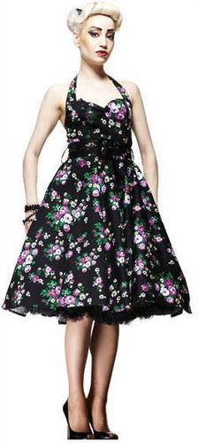 9977646058 And I want this Hell Bunny dress too Flowery Dresses
