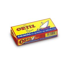Ortiz Anchoas Cantábricas Dose – Don Fredo Packaging, Candy, Food, Olive Oil, Products, Spanish, Salt, Pisces, Essen