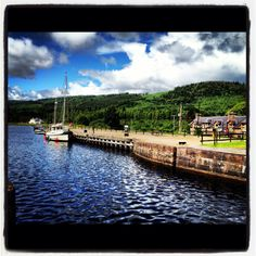 Loch Ness at Fort Augustus, Scotland