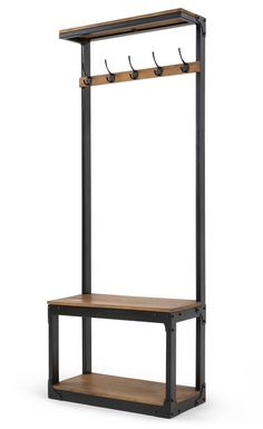 Your hallway deserves more. Give it a lift with Layne - a compact hall stand that you'll wonder how you ever lived without. Finally, somewhere to put all your stuff. Layne Hall Stand, £299 MADE.COM