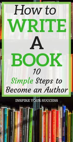 Side Hustle Ideas Discover How to Write A Book Simple Steps) - Inspire Your Success Do you want to write a book but have no clue where to get started? Learn how to become a first-time author in 10 simple steps. This is a great side hustle as well! Creative Writing Tips, Book Writing Tips, Writer Tips, Start Writing, Writing Resources, Writing Help, Writing Skills, Writing Prompts, Writing Jobs