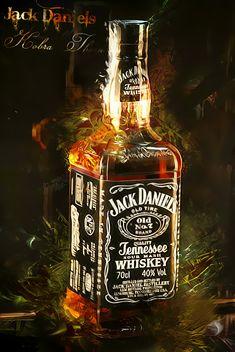 Jack Daniels by KobraThorn on DeviantArt Bebidas Jack Daniels, Festa Jack Daniels, Jack Daniels Drinks, Jack Daniels Logo, Jack Daniels Bottle, Jack Daniels Whiskey, Jack Daniels Wallpaper, Homemade Liqueur Recipes, Whisky Jack
