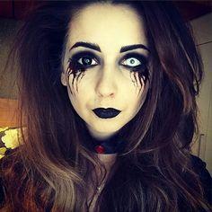 Zoella halloween makeup 2014