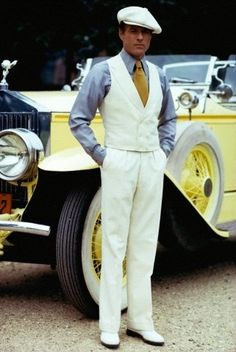 Love the car & the man!
