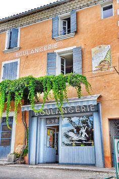 Saint Saturnin les Apt, Vaucluse, Luberon, Provence, France Storefronts.