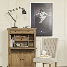 Add a unique touch to your interior with this 'Afraid of the Mouse' Picture