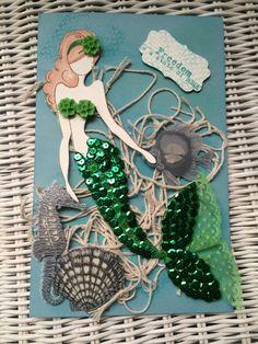 Julie Nutting mermaid