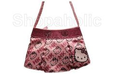 Code: 01172. Hello Kitty Skirt Shaped Handbag. This adorable Hello Kitty handbag is shaped like a mini skirt. Perfect for carrying all of your favorite accessories. Impress your friends with unique and stylish handbag. Approximately 10.0 x 6.8 x 1.7 inches - To order: http://www.shopaholic.com.ph/#!/Hello-Kitty-Skirt-Shaped-Handbag/p/37742162